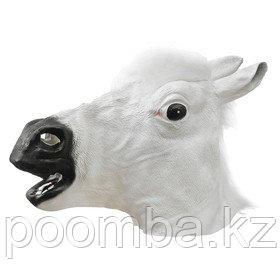 Маски Карнавальная маска «Лошадь», цвет белый