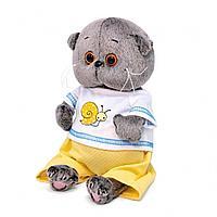 Мягкая игрушка BASIK BABY в футболке с улиткой 1248494
