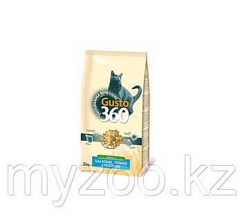 Gusto Cat Salmone 20 кг (лосось, тунец, овощи)