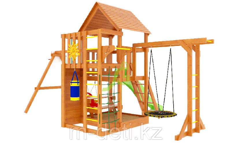 Детская площадка Крафт Pro 4 (скат 2,2)