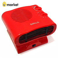 Sirius SRH-2020F красный тепловентилятор электрический