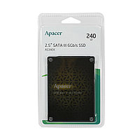 SSD 240Gb Apacer AS340X, 550 MB/s Read, 520 MB/s