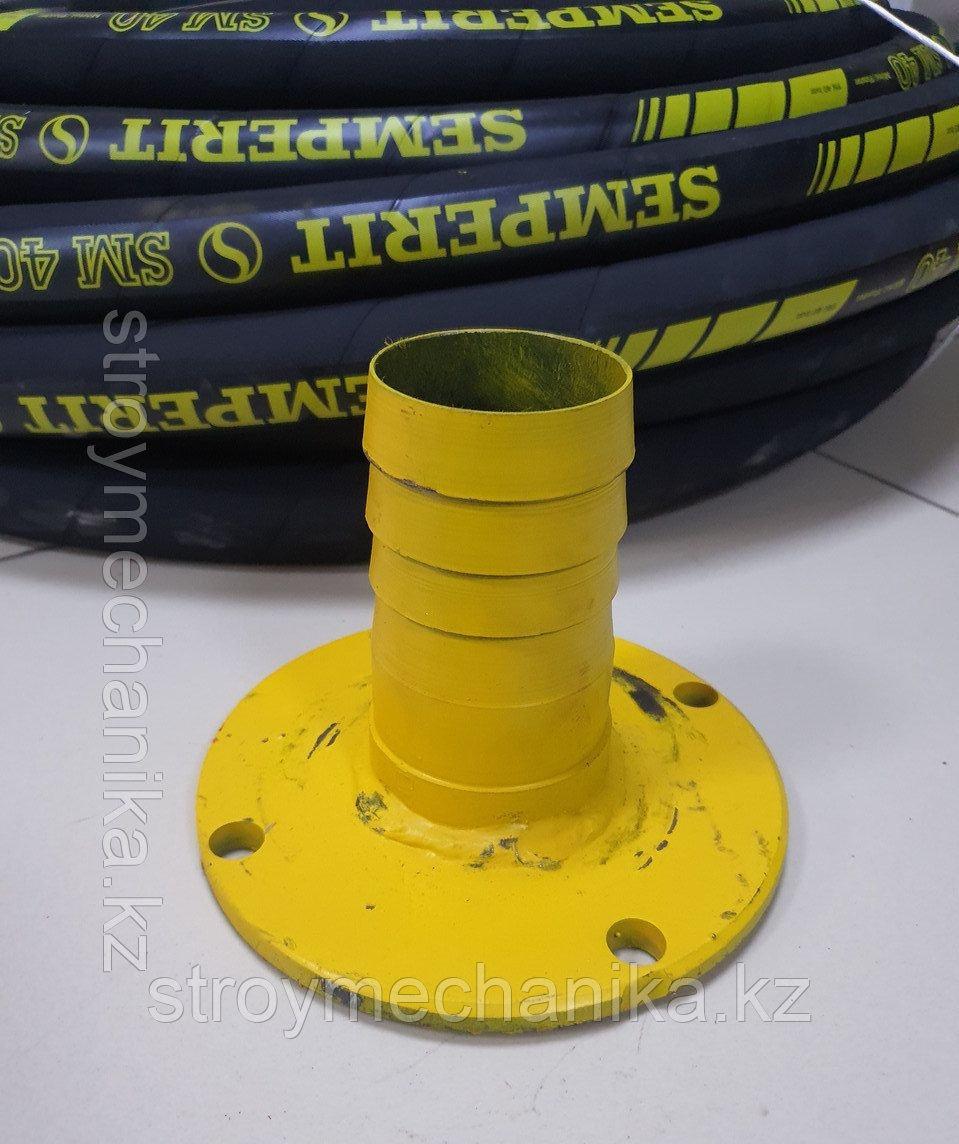 Фланец (выход) 65 мм для пневмонагнетателя СО-241
