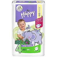Детские подгузники Happy Maxi 66 штук 8-18 килограмм