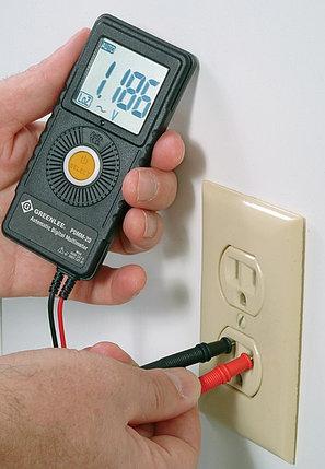 GT-PDMM-20 - Карманный цифровой мультиметр Greenlee PDMM-20, фото 2