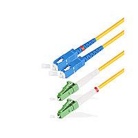 Патч Корд Оптоволоконный SC/UPC-LC/APC SM 9/125 Duplex 3.0мм 1 м