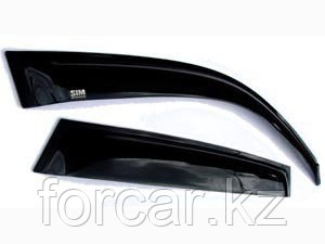 Дефлекторы окон SIM для ELANTRA 2007-, 2011-,темные, на 4 двери