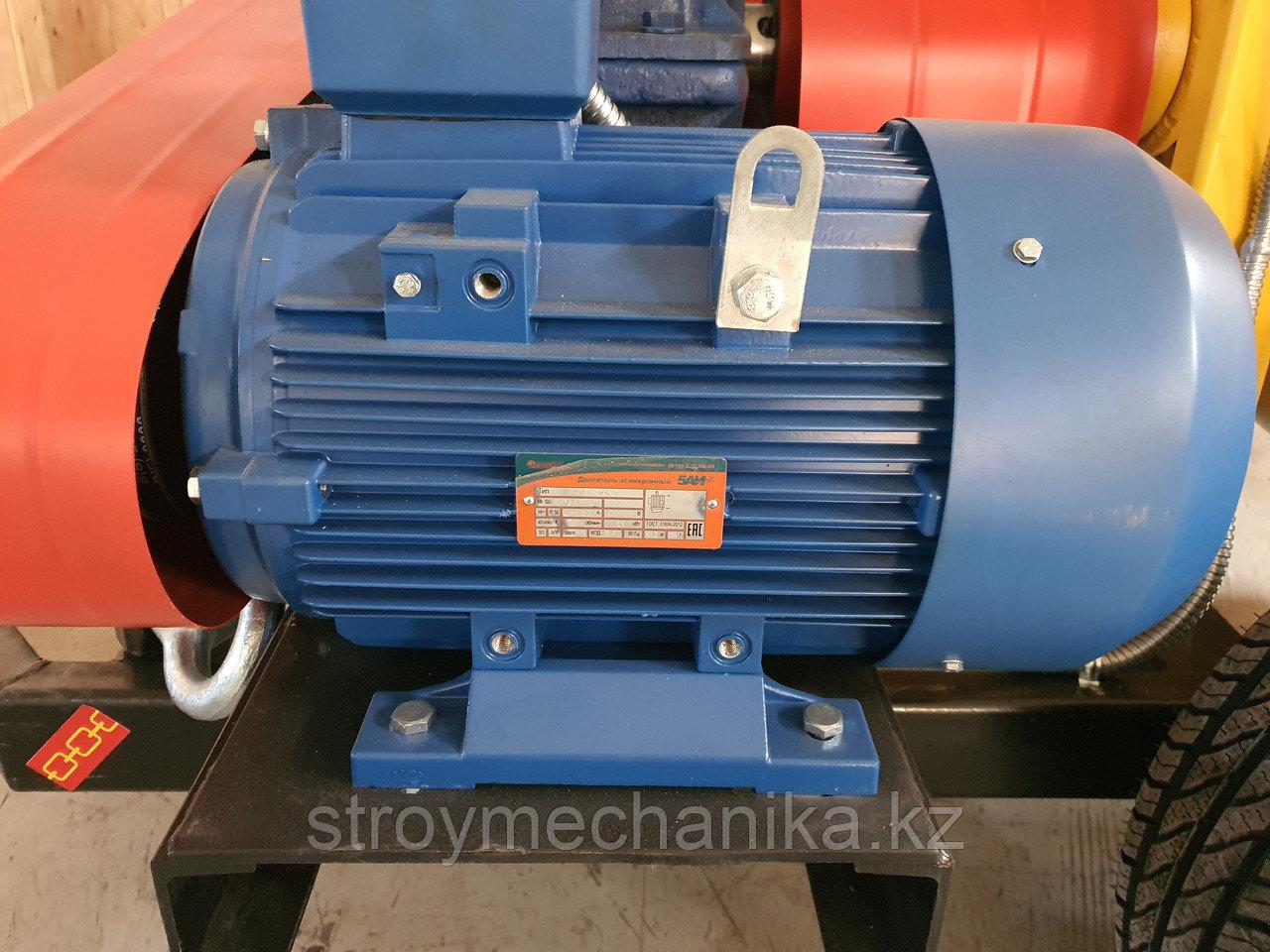 Двигатель 7,5 кВт на пневмонагнетатель