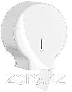 Диспенсер антивандальный для туалетной бумаги джамбо Jumbo белый пластик Турция