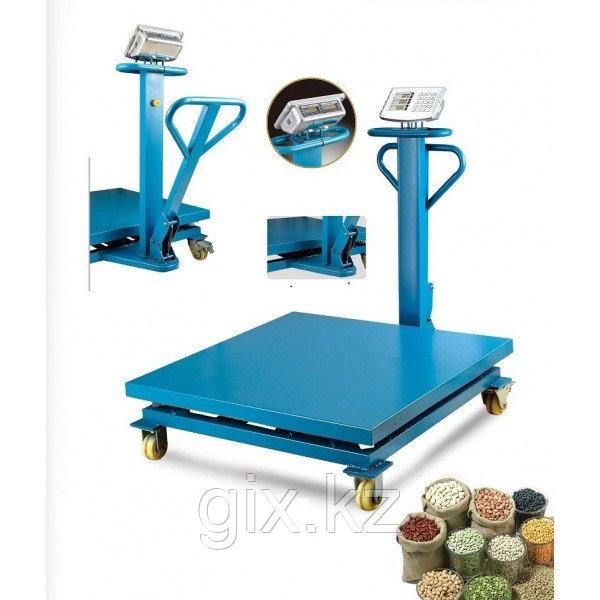 Весы торговые, платформенные, напольные до 1000 кг. 1м*1м