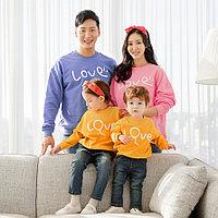 Парные свитшоты для всей семьи (цена за взрослый свитшот)