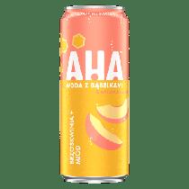 Газированная вода AHA Персик и Мёд 330 мл (24 шт в упаковке)