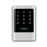 Цифровая RFID антивандальная кодонаборная панель M02IC (EMID, Mifare), металлическая, накладная, сенсорная