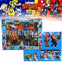 Игровой набор фигурки героев Brawl Stars 17 шт H73