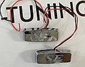 Повторители поворотов боковые диодные SE хром, фото 2
