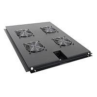 LinkBasic Вентиляторная панель для напольных шкафов,на 4 вентилятора, 1000 мм