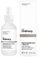 Сыворотка для лица с ниацинамидом и цинком The Ordinary Niacinamide 10% + Zinc 1%