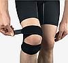 Фиксатор коленного сустава с двойной фиксацией, коленный ремешок надколенника для снятия боли.