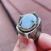 Мужское кольцо из серебра 925 пробы
