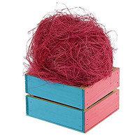 Сизаль - цвет ярко розовый, 50 гр.