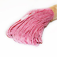 Бумажный шнур - розовый