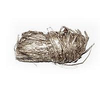Лента-рафия, серебро. Rayher