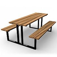 Скамейка со столом