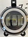 Фары противотуманные с ДХО 3х-режимные, диодные Приора, фото 6