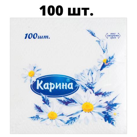 """Салфетки Карина """"Тамаша"""" 100 шт, фото 2"""