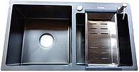 Кухонная мойка Avina HM 78*43 black