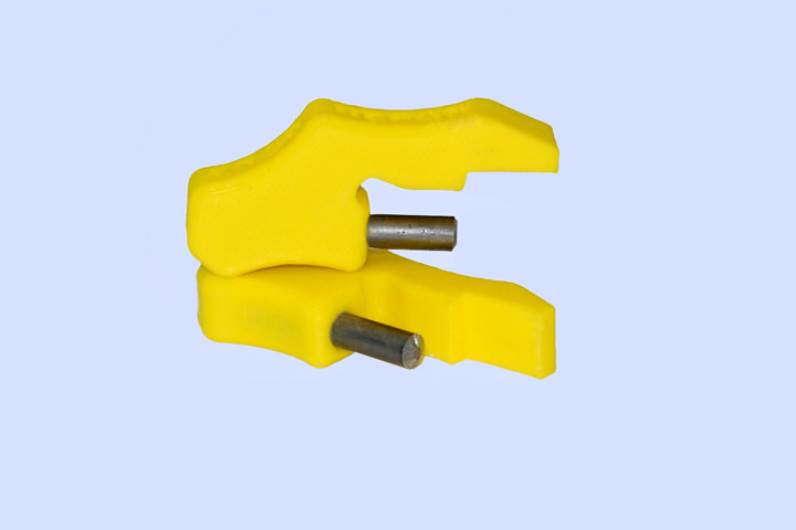 Упор переходник для кондуктора втулки 5 мм (для плиты 22 мм)