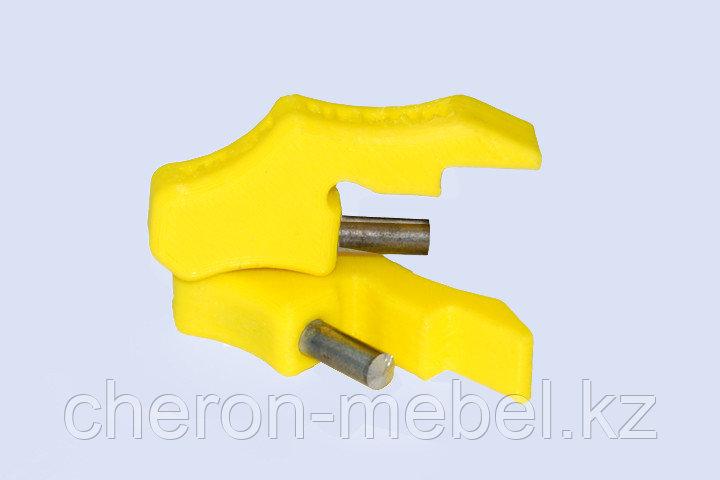 Упор переходник для кондуктора втулки 5 мм (для плиты 25 мм)