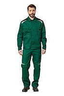 "Куртка рабочая мужская летняя ""Алатау"" цвет зеленый/черный"