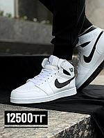 Кроссовки Jordan чер бел зим выс 2059-7, фото 1