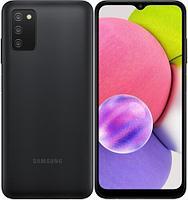 Смартфон Samsung Galaxy A03s 64Gb Чёрный