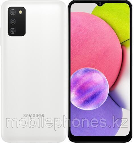 Смартфон Samsung Galaxy A03s 64Gb Белый
