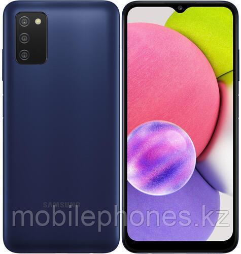 Смартфон Samsung Galaxy A03s 64Gb Синий