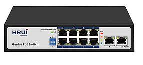 POE коммутатор HR100-AF-82GN