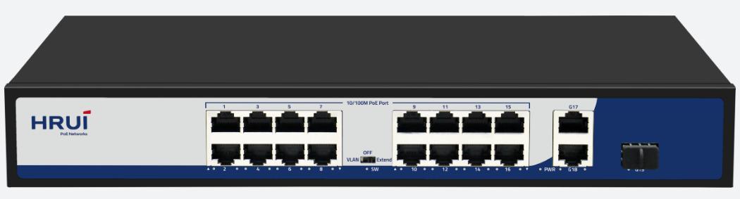 POE коммутатор HR901-AF- 1621GS-300