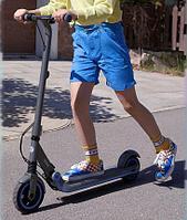 Электросамокат детский Ninebot eKickScooter E10, серый