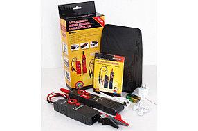 Профессиональный кабелеискатель, трассировщик скрытой проводки под напряжением до 400В (аккум Li-ion, гарнит.), фото 3