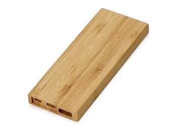 Внешний аккумулятор из бамбука Bamboo, 5000 mAh