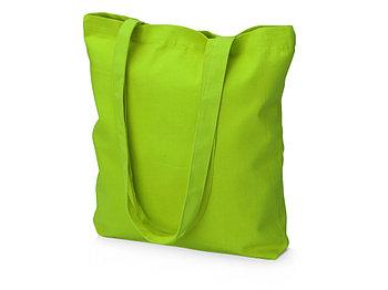 Сумка из плотного хлопка Carryme 220, зеленое яблоко