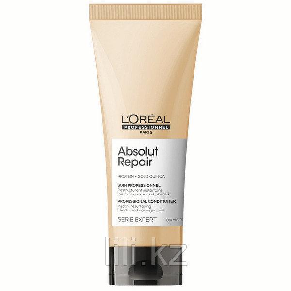 Восстанавливающий кондиционер для поврежденных волос Absolut Repair Gold Quinoa+Protein Conditioner 200 мл.