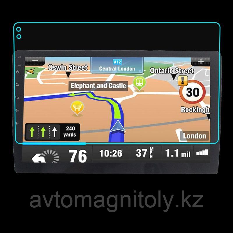 Защитная пленка/Коленное стекло 9H для автомагнитолы на андроиде