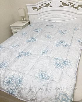 Одеяло с цветочками 1,5сп