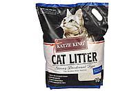Наполнитель Katze King для кошачьих лотков, угольные шарики, (8кг) 10л