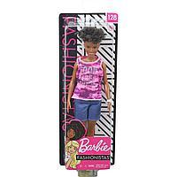 Barbie. Игра с модой с короткими вьющимися волосами