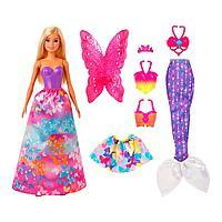 """Barbie.  DREAMTOPIA  Игровой набор  """"Перевоплощение"""""""