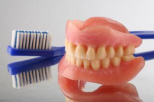 Уход за зубными протезами